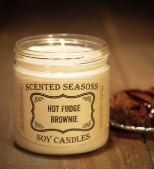 candle-hot-fudge-brownie