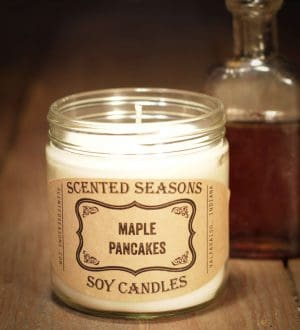 candle-maple-pancakes