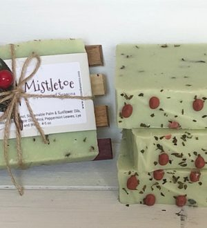 Mistletoe Soap 3